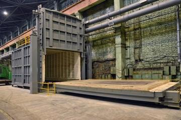 электродуговая печь термической обработки